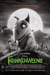 Frankenweenie (2012 film) poster