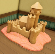 Stitch's Sand Castle