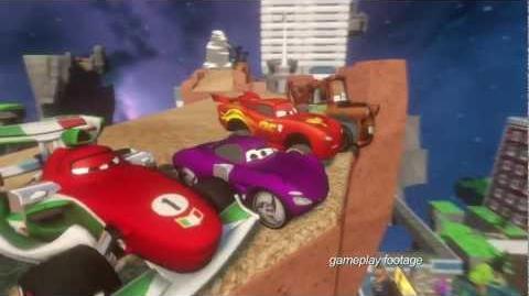 DISNEY INFINITY Cars Play Set Trailer