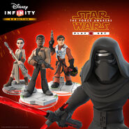 The Force Awakens DI Playset Promo