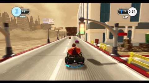 DISNEY INFINITY- Define Racing (Featured Toy Box)