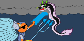 Atlantic Kwazii fights the cursed Paper Lantern Dragon!