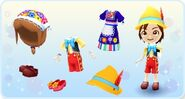 DMW - Pinocchio Outfits