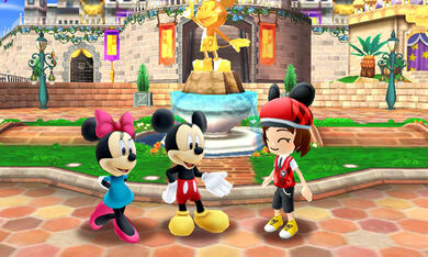 DMW - Mii met Mickey and Minnie