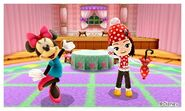 Minnie Mouse and Mii Photos - DMW2