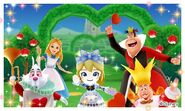 Alice with his Friends and Mii Photos
