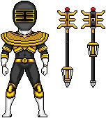 Gold Ranger by MegaZeo