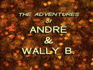 The Adventures Of Andre & Wally Bee Logo