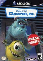 Monsters Inc Scream Arena for Nintendo GameCube