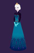 Elsa coronation full body