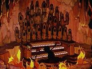 Devil Plays His Organ