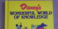 Disney's Wonderful World of Knowledge Year Book 1989