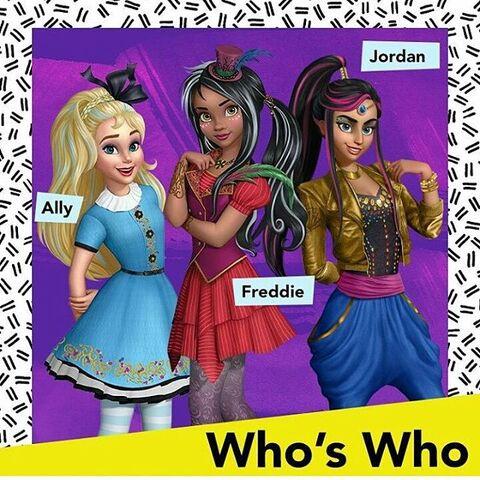 File:Who's Who - Ally, Freddie, Jordan.jpg
