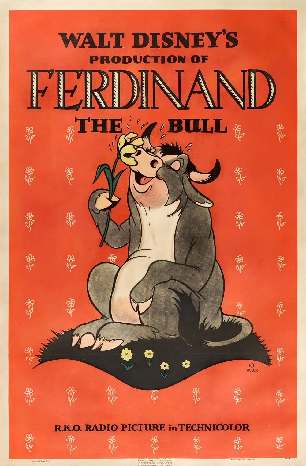 File:Ferdinand the Bull film poster.jpeg