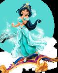 Jasmine extreme princess photo