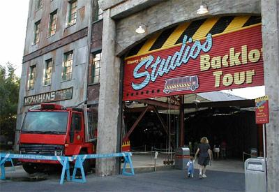 Disney Backlot Tour Houses