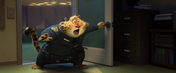 Zootopia Clawhauser bursts in