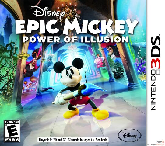 File:Epic Mickey Power of Illusion Cover.jpg