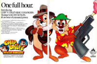 Chip 'n' Dale Rescue Rangers promo ad