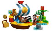 LEGO-Duplo-10514-Jakes-Pirate-Ship-Bucky
