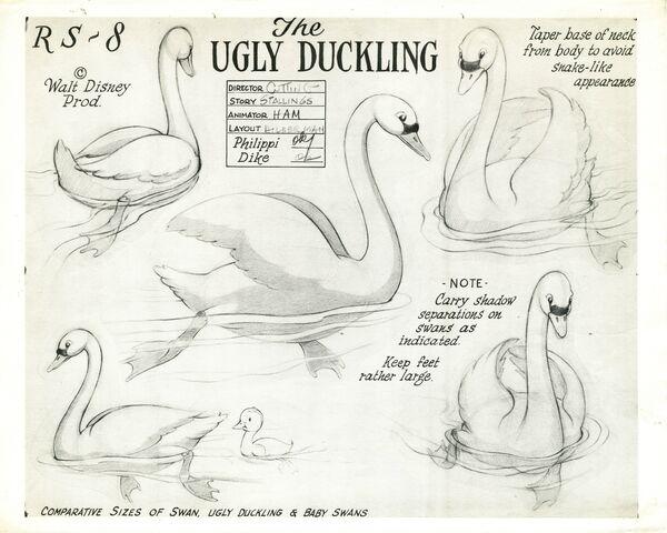 File:The Ugly Duckling swan model.jpg