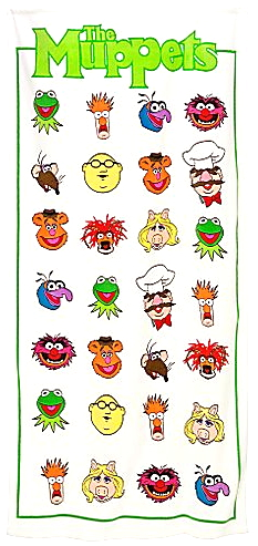 Muppetbeachtoweldisney