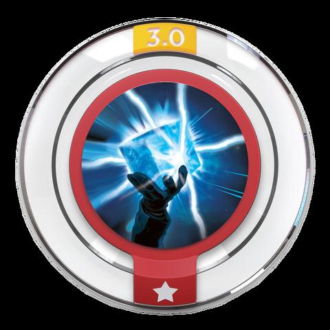 File:Disney INFINITY Cosmic Cube Blast Power Disc.png