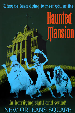 File:Haunted Mansion poster at Disneyland Anaheim.jpg