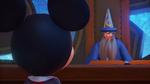 Yen Sid looking at Mickey BBS 0.2