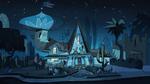 Diaz Household at night