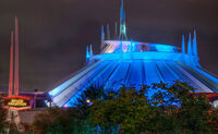 Space-mountain-night