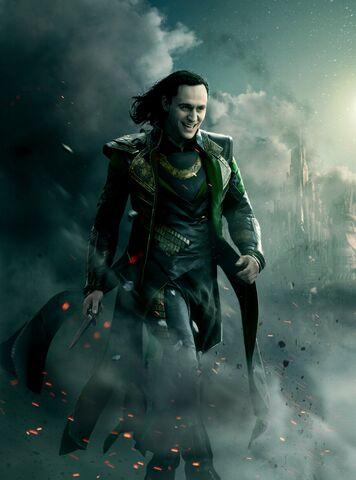 File:Thor the Dark World - Loki - Textless Poster 2.jpg
