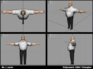 Incredibles Game Concept - Mr. Incredible normal