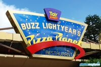 Buzz Lightyear's Pizza Planet Restaurant DLP