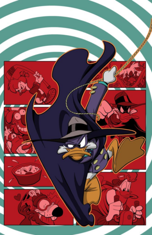 File:Darkwing Duck JoeBooks 1 textless cover art.png