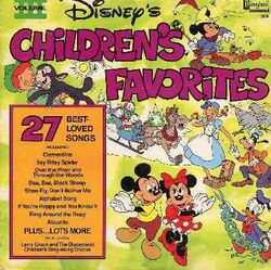 Disneys childrens favorites volume 3 lp