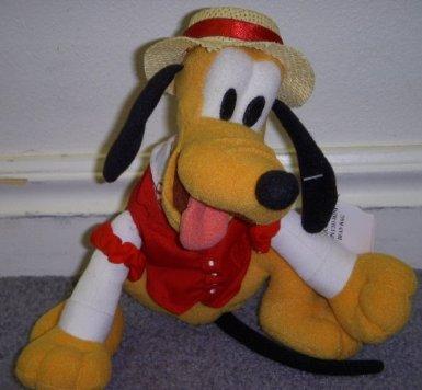 File:Disney Mickey Mouse Club House Barber Shop Quartet 8 Plush Bean Bag Pluto Doll.jpg