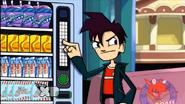 Randy on the vending machine