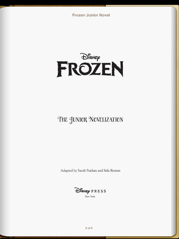 File:Frozen Novelization Cover.jpg