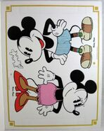 Mickey minnie paper dolls