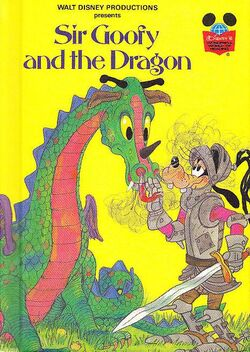 Sir goofy and the dragon