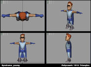 Incredibles Game Concept - Syndrome young