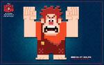 Wreck-It Ralph 8-bit Wallpapper