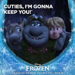 Cuties I'm Gonna Keep You Frozen Poster