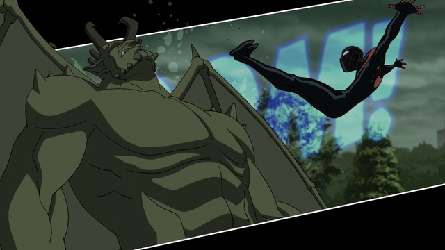 File:Miles Morales takes down the Ultimate Goblin USMWW.png