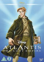 Atlantis The Lost Empire UK DVD 2014 Limited Edition slip cover