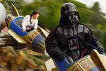 Darth Vader at Disneyland