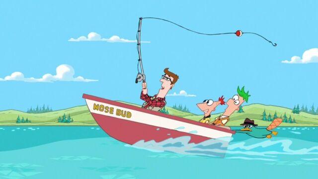 File:Lawrence in a boat.jpg