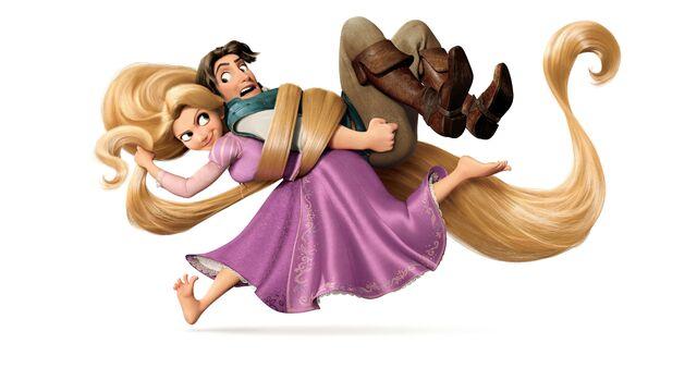 File:Rapunzel & Flynn tangled.jpg
