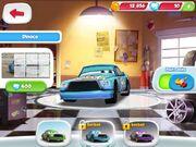 Dinoco Chick Hicks CARS Fast as Lightning